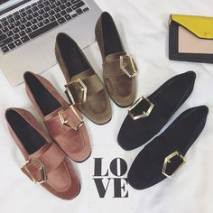 #KASUT   #543852297073   RM60.00  POSTAGE: RM10 SM / RM18 SS   SIZE: 35-39   Color: Black Khaki Pink   Help surface material: PU   With high...