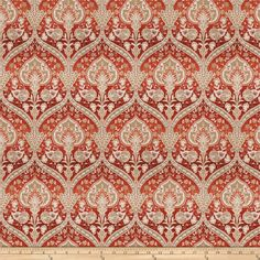 Trend 03882 Chenille Redwood from @fabricdotcom  This lovely chenille fabric is  perfect for valences, toss pillows, and upholstery projects like ottomans and headboards.