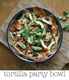 We've been enjoying this awesome Tortilla Party Bowl for a long time now… it kind of really goes with our movie nights or when friends come over. It's a naturally gluten-free and vegan appetizer without putting any extra effort in… and it's just a great party dish. period. – AND – a great Super Bowl...Read More »