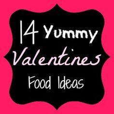 14 Yummy Valentine Food Ideas from @SerenityYou #valentines #food