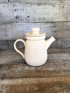 Pitcher Pottery Pitcher Handmade Pottery Vase Ceramic Teapot Farmhouse Chic Pottery Water Pitcher Ceramic Pitcher Pitcher with Lid by TheDustyOldShack on Etsy