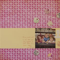 Layout by @Ashley Harris using Bazzil Basics Miss Teagen Sue Collection.