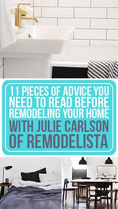 11 Pieces Of Advice You Need To Read Before Remodeling Your Home
