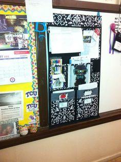 wall organizer works great in classrooms!  www.mythirtyone.com/jbause