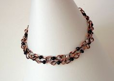 Popular healing copper chains have just been listed ♥ ♥ ♥ and they really help, I wear my anklet almost every day and in winters I sleep with it :-) Good against varixes, pain and tiredness. Double chain by EvAtelier1, from $25.00