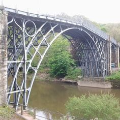 ~Ironbridge, Shropshire. First iron bridge in the world~designed and engineered by Isembard Kingdom Brunel~