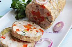 Polish Recipes, Polish Food, Fresh Rolls, Baked Potato, Sushi, Food And Drink, Menu, Cooking Recipes, Snacks