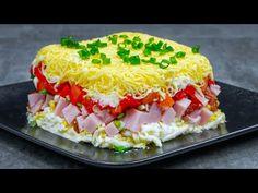 Vrstvený salát, který připravíte za 1 minutu! Vypadá úžasně a chutná skvěle!| Chutný TV - YouTube