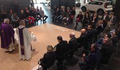 Gualtiero Bassetti in visita alle realtà produttive in preparazione alla Pasqua