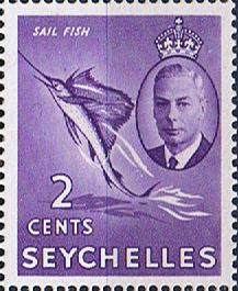 Seychelles 1954 Queen Elizabeth II SG 174 Fine Mint Scott 173 Other Asian and British Commonwealth Stamps HERE!
