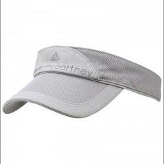 Adidas by Stella McCartney tennis visor Gray. Beautiful. Adidas by Stella McCartney Accessories