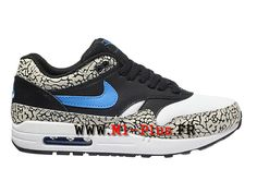 timeless design 20500 bccd5 Nike Air Max 1 Ultra Flyknit Chaussures de Basket Nike Pas Cher Pour Homme  Noir Bleu 843384-401   Shoes   Pinterest   Basket nike pas cher, Baskets  nike et ...
