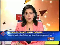 Facebook rewards Indian engineer | Watch the video - Screen India