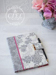 大阪 カルトナージュ CIEL(シエル) 枚方市樟葉のカルトナージュ教室: カルトナージュで2016年手帳カバー