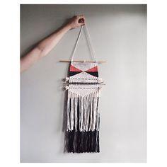 ooak wall hanging handmade weaving tapestry by nanoutriko on Etsy