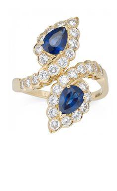 Van Cleef & Arpels, sapphire and diamond ring