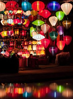 Hoi An Lanterns by loonatic, via Flickr