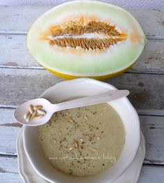 Zuppa estiva di melone invernale