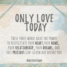 #OnlyLoveToday @handsfreemama @carinkilbyclark