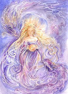 """Elements Spirit:  """"Elements - Spirit,"""" by rynkitty, at deviantART."""