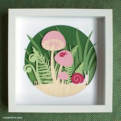 DIY home decor made simple! Create our papercut woodland art project with the help of a Cricut cutting machine for ultimate woodland wonder...