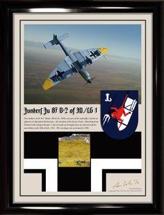 Junkers Ju 87 B-2 'Stuka' Yellow Eastern Front Relic Display - NEW