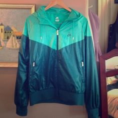Nike jacket Great track jacket, mint condition, extremely comfortable. Sized at xl but id definitely say it was a large :) Nike Jackets & Coats