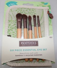 EcoTools 6 Piece Essential Eye Brush Set Review #crueltyfree #beauty #brushes
