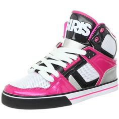 Osiris Women's NYC 83 VLC Skate Shoe ❤ liked on Polyvore featuring shoes, sneakers and skate shoes