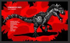 Jurassic Park: Indominus Rex concept by HellraptorStudios on DeviantArt Jurassic Park Logo, Jurassic World Dinosaurs, Jurassic World Fallen Kingdom, Jurassic Park World, Alien Creatures, Prehistoric Creatures, Dino Crisis, Dinosaur Wallpaper, Indominus Rex