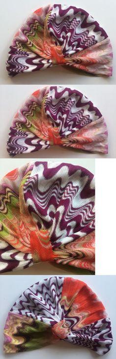 Hair Accessories 45220: New Gorgeous Missoni Mare Multicolor Zig-Zag Knit Beach Turban Headband 1 Sz -> BUY IT NOW ONLY: $145 on eBay!