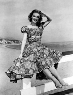 Inspiration: vintage peasant dress, 40s peasant style dress Love love love this!!!!