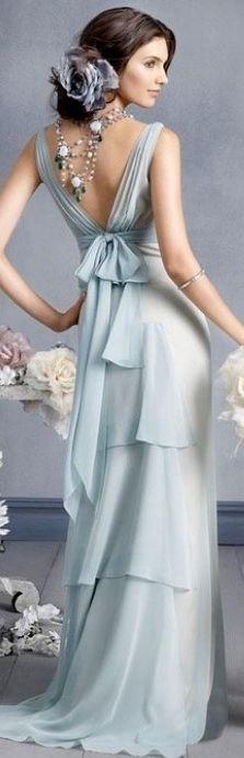 Vestidão azul