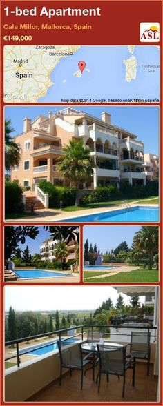 1-bed Apartment in Cala Millor, Mallorca, Spain ►€149,000 #PropertyForSaleInSpain