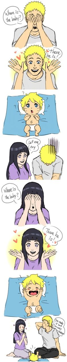 Naruto, Hinata and Bolt this makes me cry so much because omg theyre together and im like its over and i cant