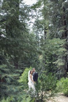 Yosemite Forest Glam Wedding