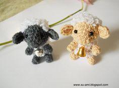 Tiny  Sheep  Cream Baby Sheep  Plush Sheep Toy  Sheep by suami, $22.00