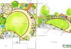 Circle Plan Garden Design