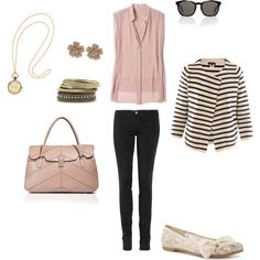 Casual Blush, created by noellek79 on Polyvore
