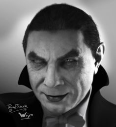 Somehow I feel captivated by this Dracula picture. Like all he'd need is a watch dangling and I'd be hypnotized.