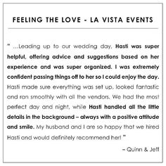 great vancouver wedding Oops! With so many meetings & new client consults on the go I keep forgetting to post these ⭐️Testimonial Tuesday⭐️ posts! But what perfect timing and coincidence with this one as just the other day we just hit the 6 month #weddinganniversary for Q&J! We supported this lovely couple with our day-of coordination & consulting services leading up to their personalized backyard wedding with a fantastic team of...