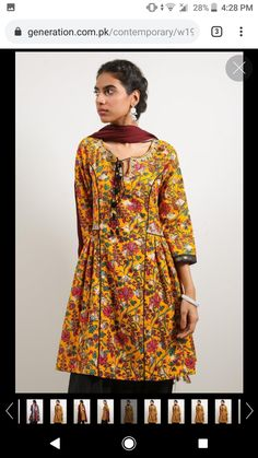 Pakistani Clothing, Pakistani Outfits, Latest Dress Design, Short Frocks, Casual Dresses, Summer Dresses, Handmade Dresses, Beaded Embroidery, Designer Dresses