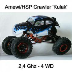 Beschreibung: (Bestellnr. 22071)Crawler im Maßstab 1:16 inkl. 2.4 GHz Senderund Empfänger komplett mit Akku und Ladegerät.Sein geringes Gewicht und