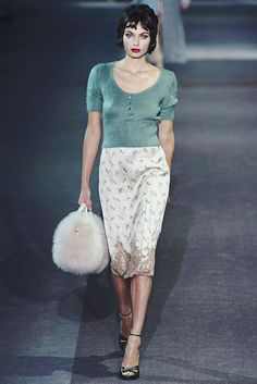 RUNWAY TO EDITORIAL : LOUIS VUITTON FALL 2013 by {this is glamorous}, via Flickr
