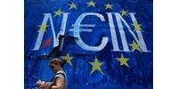 A görögök első napja a csőd alatt