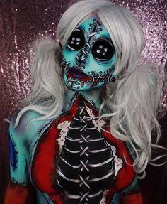 #Halloween #Makeup #Halloween2018