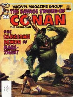 Savage Sword of Conan 84 - Conan Wiki
