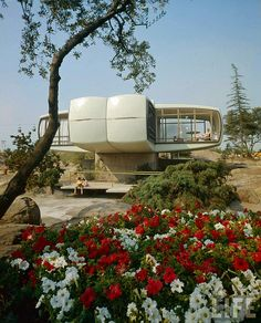Monsanto House of the Future, 1957 by Ralph Crane | MidCentArc via Flickr