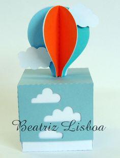 Balões - Caixa nuvem   Beatriz Lisboa   Elo7