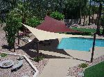 Residential Shade Sails, Shade Structures and Shade Canopies Arizona